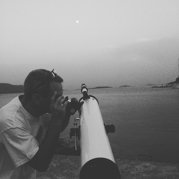 Fullmoon observation on Ionian islands